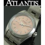 銀座店 ロレックス ROLEX オイスターパーペチュアル レディース 腕時計 76080 D番