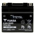 バイク バッテリー台湾ユアサ TAIWAN YUASA TTZ7SL 初期充電済み 1年保証 互換YTZ7S FTZ7S