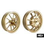 NCY CYGNUS X(シグナスX) アルミホイール前後セット ゴールド F2.75J/R3.00J