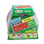 アサヒペン パワーテープ シルバー 10m 強力粘着テープ(補修用品)(4970925602206)
