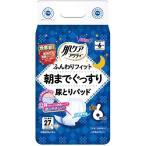 日本製紙クレシア 肌ケア アクティ尿パッド6回分吸収 27枚入×6点セット 男女兼用(大人用紙おむつ・介護用品・紙パンツ)