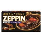 江崎グリコ カレー ZEPPIN 辛口ブラック 175g ×10個セット 【まとめ買い特価!】