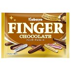 カバヤ食品 フィンガーチョコレート 164g×12個セット/4901550139584 【まとめ買い特価!】