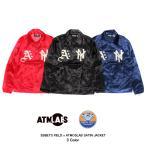 エベッツフィールド x アトモス ラボ ATMOS LAB サテンジャケット (3色展開) 16FW-S