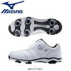 ミズノ ゴルフ ワイドスタイル 001 ボア 51GQ1430 ゴルフシューズ ホワイト(01) BOA