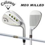 キャロウェイ ゴルフ MD3 ミルド マックダディ3 Wグラインド クロムメッキ ウェッジ ダイナミックゴールド スチールシャフト 在庫限り