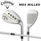 キャロウェイ ゴルフ MD3 ミルド マックダディ3 Cグラインド クロムメッキ ウェッジ NSプロ 950GH スチールシャフト 在庫限り