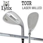 リンクス ゴルフ USA ツアー レーザー ミルド ウェッジ Lynxオリジナル スチールシャフト 在庫限り