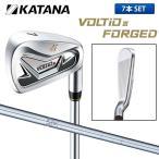 カタナ ゴルフ ボルティオ III フォージド アイアンセット 7本組 (4-P) NSプロ 950GH スチールシャフト 在庫限り