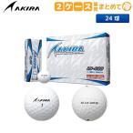 「2ケース販売/非公認球」 アキラ ゴルフ AKIRA LD-400 ゴルフボール ホワイト