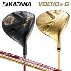 「訳あり/短尺ドライバー/アウトレット品」 カタナ ゴルフ ボルティオ4 G ドライバー ブラック ゴールド