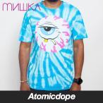 ショッピングターコイズ MISHKA STONEY BALONEY TIE-DYE T-SHIRT Turquoise Tシャツ 半袖 水色 ミシカ