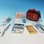 ポータブルファーストエイドキット ポーチ入りの携帯可能な救急セット