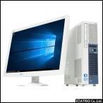 ショッピング中古 中古パソコン 液晶セット 24インチ SSD+HDD Windows10 Core i5 3550 3.3GHz 新品500GB NEC Mate ME-E MK33M AS241W Office 送料無料
