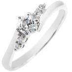 プラチナ ダイヤモンド 婚約指輪 エンゲージリング リング 一粒 大粒 ダイヤ ストレート あすつく