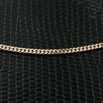 18金 ネックレス 切り売り 喜平 ネックレス イエローゴールドk18 2面カット 2ミリ幅 チェーン 鎖 レディース キヘイ 地金