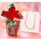 プレゼント用 ラッピング チェック柄バスケット プレゼント ジュエリーケース付き 指輪 ピアス ネックレス 赤 有料ギフトラッピング
