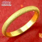 24金指輪 純金 ゴールド k24 24k メンズ シンプル リング 甲丸 ピンキーリング 地金リング 11-15号 ストレート 送料無料