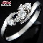 エンゲージリング プラチナ ダイヤモンド 婚約指輪 リング 指輪 リング リング 一粒 pt900 ストレート