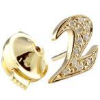 メンズ ピンブローチ ラペルピン ダイヤモンド 数字 ナンバー ゴールドk18 18金 男性用 タックピン ダイヤ シンプル 人気
