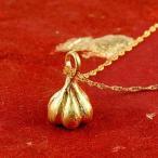 純金 ネックレス にんにく24金 ペンダント ガーリック ゴールド k24 レディース 送料無料