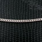 プラチナ ネックレス 喜平 メンズ チェーン チェーンのみ 90cm ロングネックレス 2面カット 2.3ミリ幅 シンプル 鎖 pt850 キヘイ 地金 男性用 送料無料