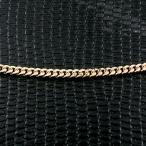 18金ネックレス メンズ 喜平 ネックレス イエローゴールドk18 2面カット 2.3ミリ幅 チェーン 45cm 鎖 18金 キヘイ 地金男性 シンプル 人気 送料無料