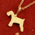 24金ネックレス 純金 ゴールド 犬 24K シュナウザー テリア系 ペンダント トップ ゴールド k24 いぬ イヌ 犬モチーフ 送料無料 人気