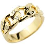 18金ペンダントトップ メンズ ネックレス 喜平 リング ダイヤモンド イエローゴールドK18 リング 指輪 婚約指輪キヘイ 鎖 ダイヤ 送料無料 人気