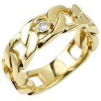 18金ペンダントトップ メンズ ネックレス 喜平 リング ダイヤモンド イエローゴールドk18リング 指輪 キヘイ 鎖 ダイヤ 一粒 幅広 送料無料 人気