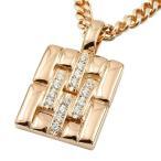 18金ペンダントトップ メンズ ネックレス 喜平 用 ダイヤモンド ピンクゴールドk18 メタルバンド 時計 ダイヤ 人気 送料無料