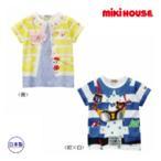 ミキハウス【MIKI HOUSE】プッチー&うさこ☆リュック&ポシェットプリント半袖Tシャツ(100cm・110cm)