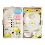(海外販売専用)ミキハウスファースト【MIKI HOUSE FIRST】【箱付】豪華なテーブルウェアセット(ベビー食器セット)(3単)