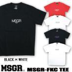 Tシャツ メンズ 半袖 プリント TEE MSGR メッセンジャー アメカジ ストリート系 ファッション MSGR-FKC TEE
