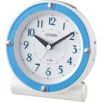 目覚まし時計 起きれる 大音量 光 8RE652-004 シチズン CITIZEN 時計 置き時計 おしゃれ アナログ 子供 電子 アラーム スヌーズ LEDライト