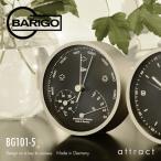 BARIGO バリゴ 温湿気圧計 BG101-5 サイズ:Φ104mm カラー:マットシルバー (壁掛け・卓上両用対応)