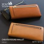 ZOO ズー CHEATER チーター ラウンドウォレット ZLW-021 長財布 ロングウォレット カラー:3色 日本製 栃木レザー