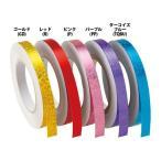 【2個までメール便可】 [SASAKI]ササキ 新体操アクセサリー カラーミラクルテープ(ホログラム加工) (HT3)(GD) ゴールド