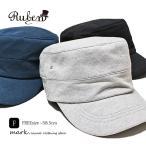 メンズ ワークキャップ 大きいサイズ 帽子 キャップ スウェット素材 カジュアル ゴルフ 春 夏 秋 冬 RUBEN ルーベン スウェットワークキャップ