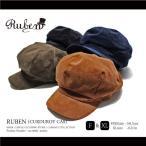 报童帽 - RUBEN / ルーベン 大きいサイズ対応 CURDUROY BIG CAS 2WAY コーデュロイ ビッグ キャスケット メンズ レディース 帽子 キャスハンチング ハンチング ゴルフ カ