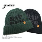 ショッピングニットキャップ grace/グレース DAPPER WATCH 綿麻 サマーニット ニットキャップ ニット ワッチ フリーサイズ メンズ レディース 帽子 ニット ニット帽