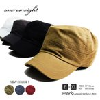 ワークキャップ メンズ 帽子 ゴルフ 大きいサイズ キャップ メンズ帽子 ゴルフキャップ 春 夏 秋 冬 綿 ヘリンボーンコットン ワンオアエイト
