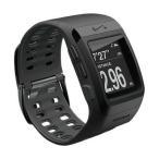 【工場再生品】 ランニングウォッチ ナイキ Nike+ SportWatch GPS スポーツウォッチ Black|直輸入品