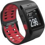 【工場再生品】 ランニングウォッチ Nike+ ナイキ SportWatch GPS スポーツウォッチ Anthracite/Red ブラック レッド 時計|直輸入品