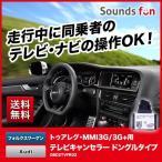 KUFATEC トゥアレグ(RNS-850)Touareg・Audiアウディ MMI3G/3G+用ナビキャンセラー/テレビキャンセラー クファテック OBD2コネクト ドングルタイプ
