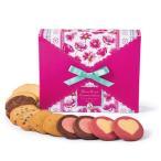 ステラおばさんのクッキー 期間限定 メッセージフラワースクエア/17バレンタイン クッキー ギフト 詰め合わせ プレゼント プチギフト