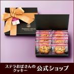 ステラおばさんのクッキー WEB限定プレミアムギフト(チョコチップラム)/16 クッキー ギフト 詰め合わせ 焼き菓子 高級 クリスマス プレゼント ビター