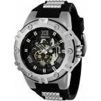 腕時計 インヴィクタ インビクタ メンズ Invicta Men's Pro Diver Mechanical Hand Wind Silicone S. Steel Black Watch 22551