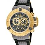 腕時計 インヴィクタ インビクタ メンズ Invicta Men's 0930 Subaqua Chronograph 200m Grey Plastic Black Silicone Watch