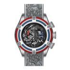 腕時計 インヴィクタ インビクタ メンズ Invicta Men's Bolt Quartz Chrono 200m Stainless Steel/White Silicone Watch 28209